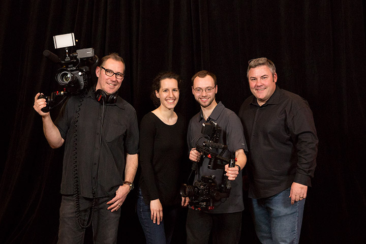 The VideoPro- video production crew